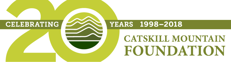 Catskill Mountain Foundation 20th Anniversary Logo