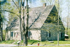 The Jean Hasbrouck House in New Paltz. Photograph courtesy of the Huguenot Historical Society