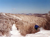 Plattekill Mountain offers a great skiing experience without all the frills. Photograph courtesy of Plattekill Mountain