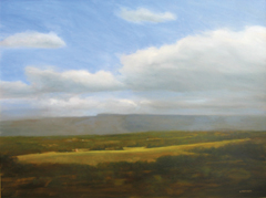 �From Fox Hill Road,� oil painting by Robert Trondsen at Mark Gruber Gallery
