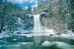 """Winter at the Falls"" by John Aylward"