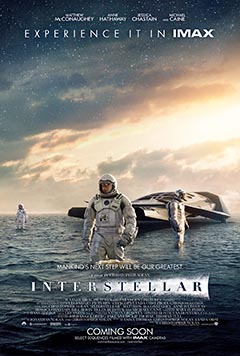 Interstellar (AT THE ORPHEUM, TANNERSVILLE)