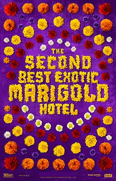The Second Best Exotic Marigold Hotel (AT THE ORPHEUM, TANNERSVILLE)