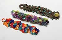 Gorgeous Hand-Made Bracelets Session III: Free-Form Beaded Bracelets
