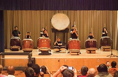 OMNY Taiko Drummers