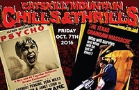 Catskill Mountain Chills & Thrills! Double Feature: Psycho (1960) & The Texas Chain Saw Massacre (1974)