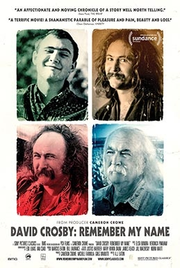 David Crosby: Remember My Name (AT THE ORPHEUM, TANNERSVILLE)