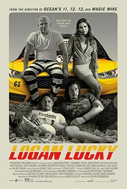 Logan Lucky (AT THE ORPHEUM, TANNERSVILLE)