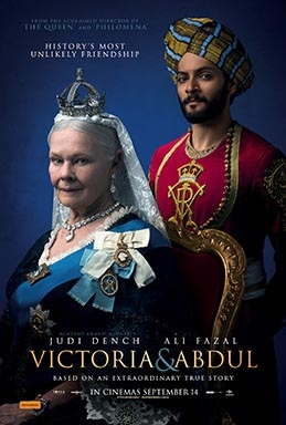 Victoria and Abdul (AT THE ORPHEUM, TANNERSVILLE)